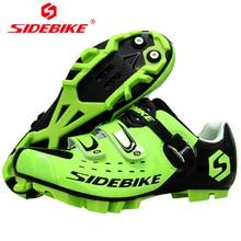 SIDEBIKE Zapatillas Carbono MTB Zapatos De Ciclismo Calzado Ciclista Hombre Carretera Breathable Biking Shoe Bike