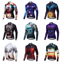 Weimostar 3D Cool Design Cycling Jersey Long Sleeve Autumn Men Mountain Bike  Jersey MTB Bicycle Clothes eacf89f17