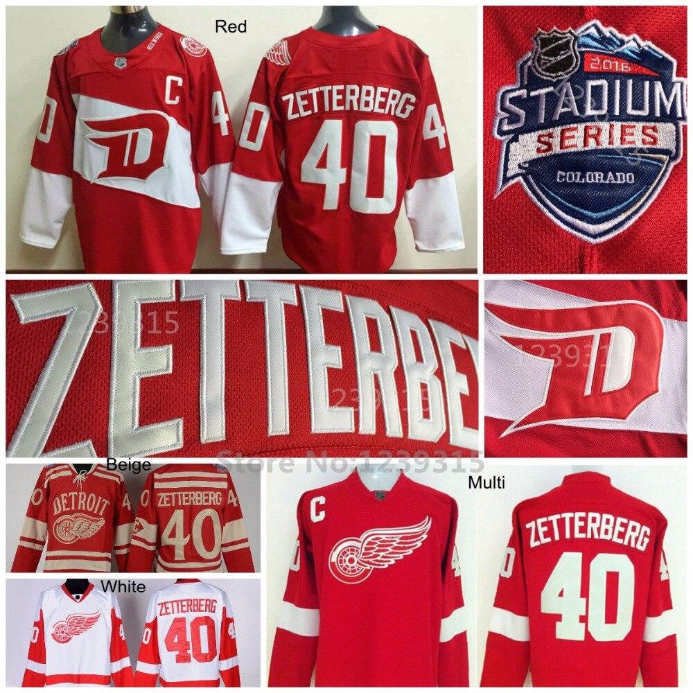 40ae4269f ... canada detroit red wings jerseys 40 henrik zetterberg jersey 2016  stadium series red white winter classic
