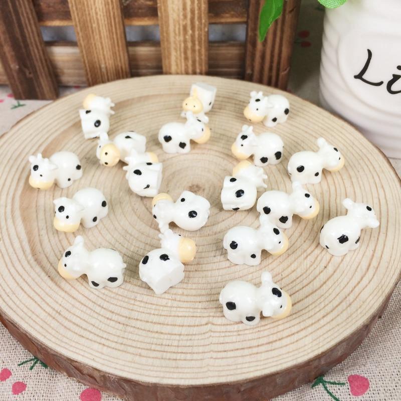 Achetez en gros miniature en r sine animaux en ligne des - Deco jardin vache colombes ...