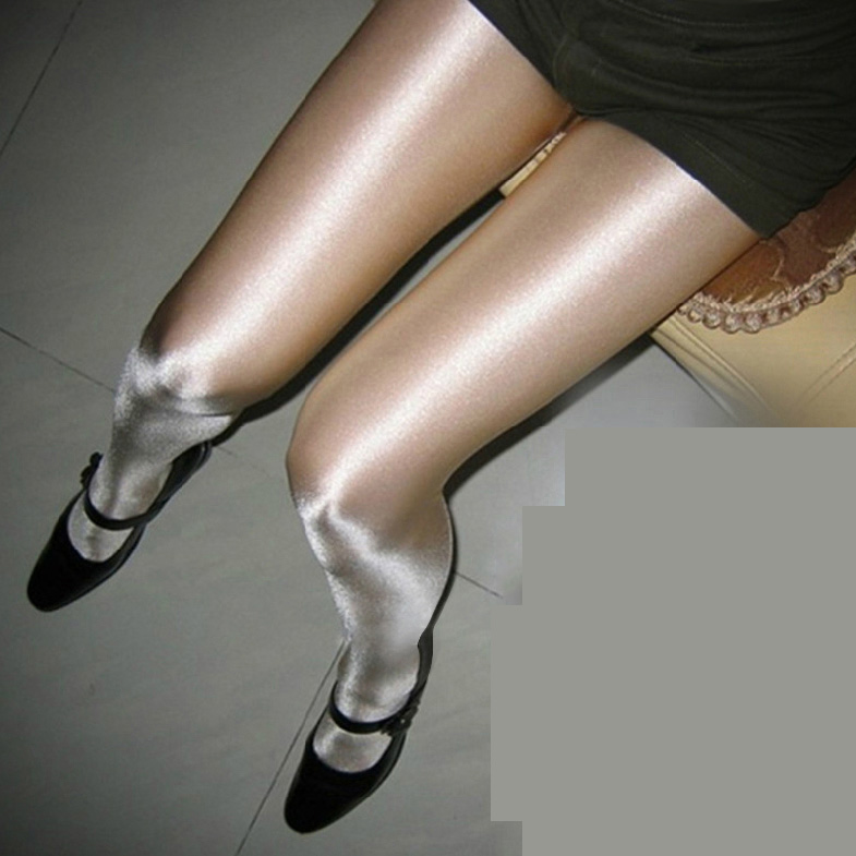 thin hot nightclub singer DS stage pantyhose pearl shiny light socks Колготки