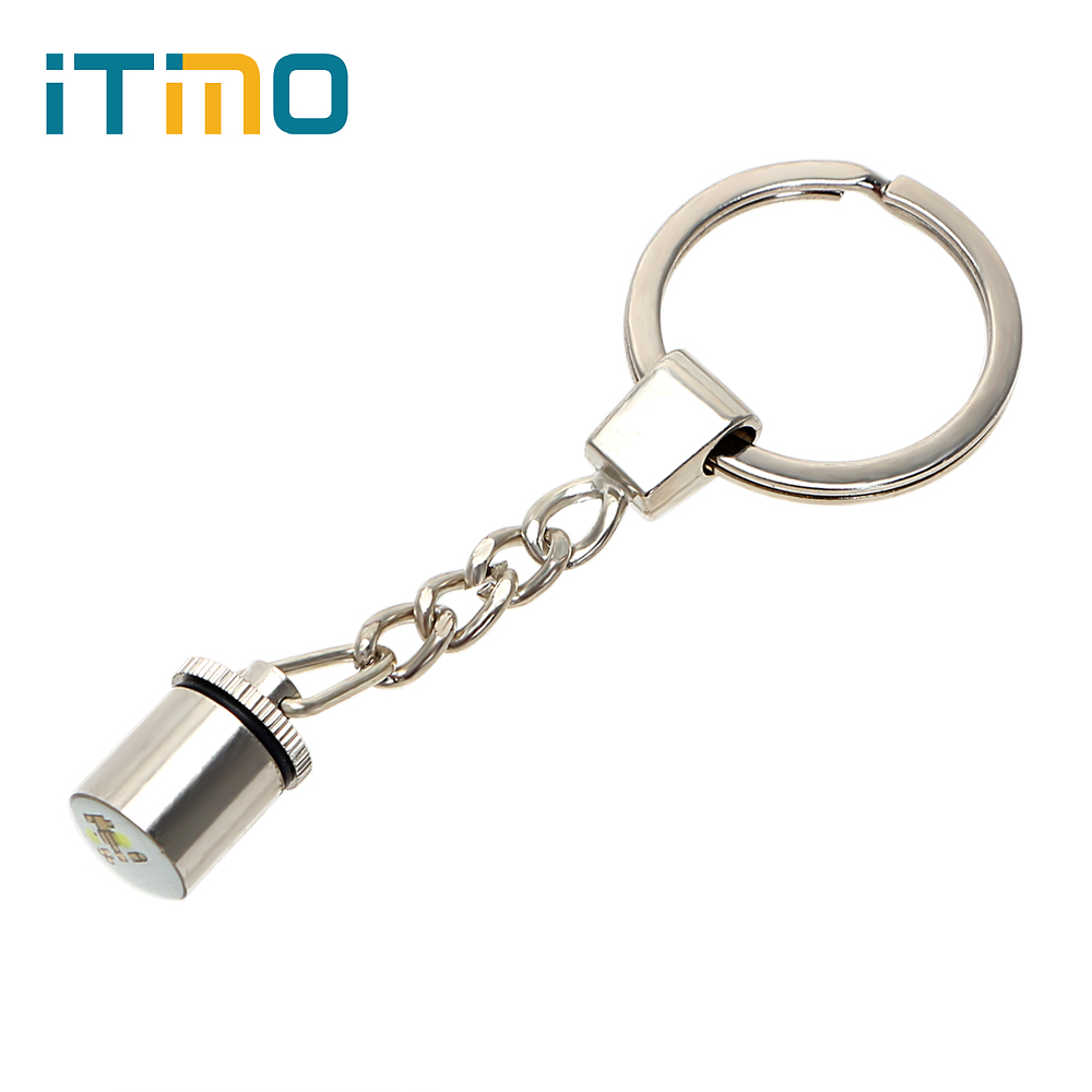 ITimo 3D Print Moon Lamp Keychain For Mini Moon Night Light Keychain LED Light Keyring with Touch Switch Light Source New Style