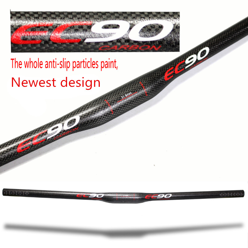 EC90 2017 New design Full carbon fiber mountain bike handle Straight to the cross MTB BIKE HANDLEBAR Carbon Bicycle handlebar