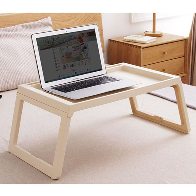 Hot Simple Fashion Laptop Table Creative Foldable Computer Desk Portable Bed Studying Notebook For Sofa