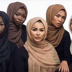 Прозрачный обычный шарф/хлопок шарф с бахромой женские мягкие сплошной хиджаб популярное кашне платки большой пашмины широкий шарф хиджаб