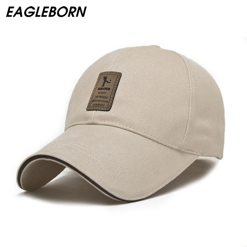 2018 EAGLEBORN snapback women Brand Fashion Baseball Cap for Men Women Cotton Casual Hats Men Golf Logo men casquette bone gorra fashion solid color baseball cap for men and women