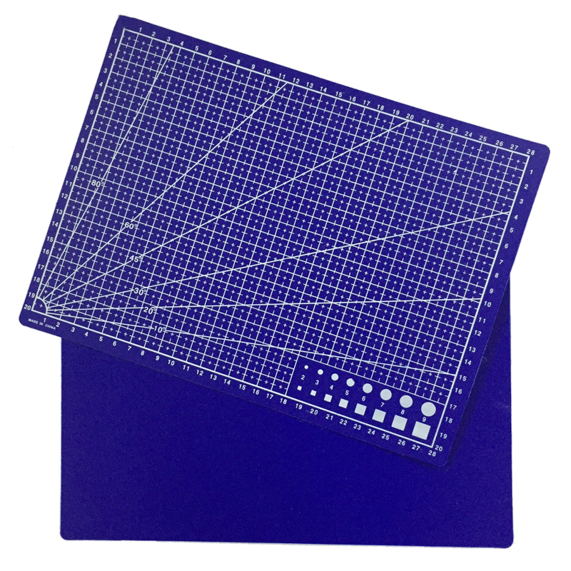 Efficient A4 Grid Lines Cutting Mat Plastic Cutting Pad Craft Card Fabric Leather Paper Board Handmade Diy Paper Card Cutting Mat Plate Office & School Supplies