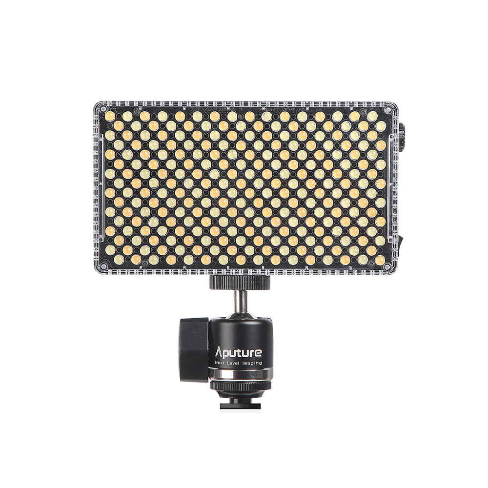 Aputure Amaran AL-F7 256 LED Photo/Video Light Professional CRI/TLCI 95 3200-9500K Dimmable On-camera Lightweight Panel Light 2 6w 180lux 36 led professional video light black