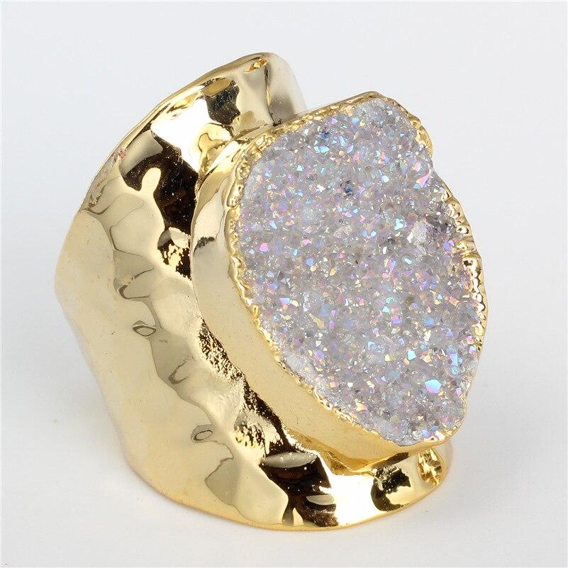 Aliexpress Com Buy 1440pcs Gold Bottom Crystal Clear: Aliexpress.com : Buy Luxury Jewelry Natural Clear Rough