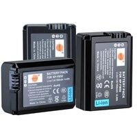 DSTE 3 шт. NP-FW50 NP-FW50 Камера Батарея для sony NEX-7 NEX-5N NEX-F3 SLT-A37 A7 NEX-5R NEX-6 NEX-3 NEX-3A Альфа 7R II a6400