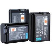 DSTE 3 stücke NP-FW50 np-fw50 Kamera Batterie für Sony NEX-7 NEX-5N NEX-F3 SLT-A37 A7 NEX-5R NEX-6 NEX-3 NEX-3A Alpha 7R II a6400