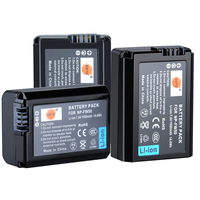 DSTE 3 Pcs 1950 MAh NP FW50 Rechargeable Battery For Sony NEX 7 NEX 5N NEX