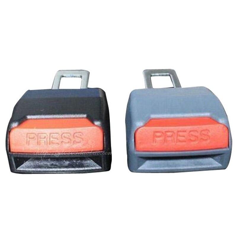 цена на 2Pcs/lot Adjustable Car Universal Seat Belt Clip Buckle Seat Belt Extender Extension Professional