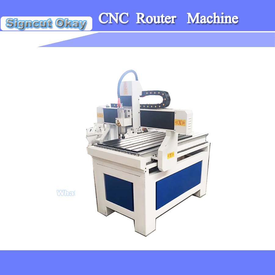 3 Axis USB Port CNC Router Machine/woodworking CNC Router 6090/9060  With Ball Screw Transmission And 1.5KW Spindle Motor
