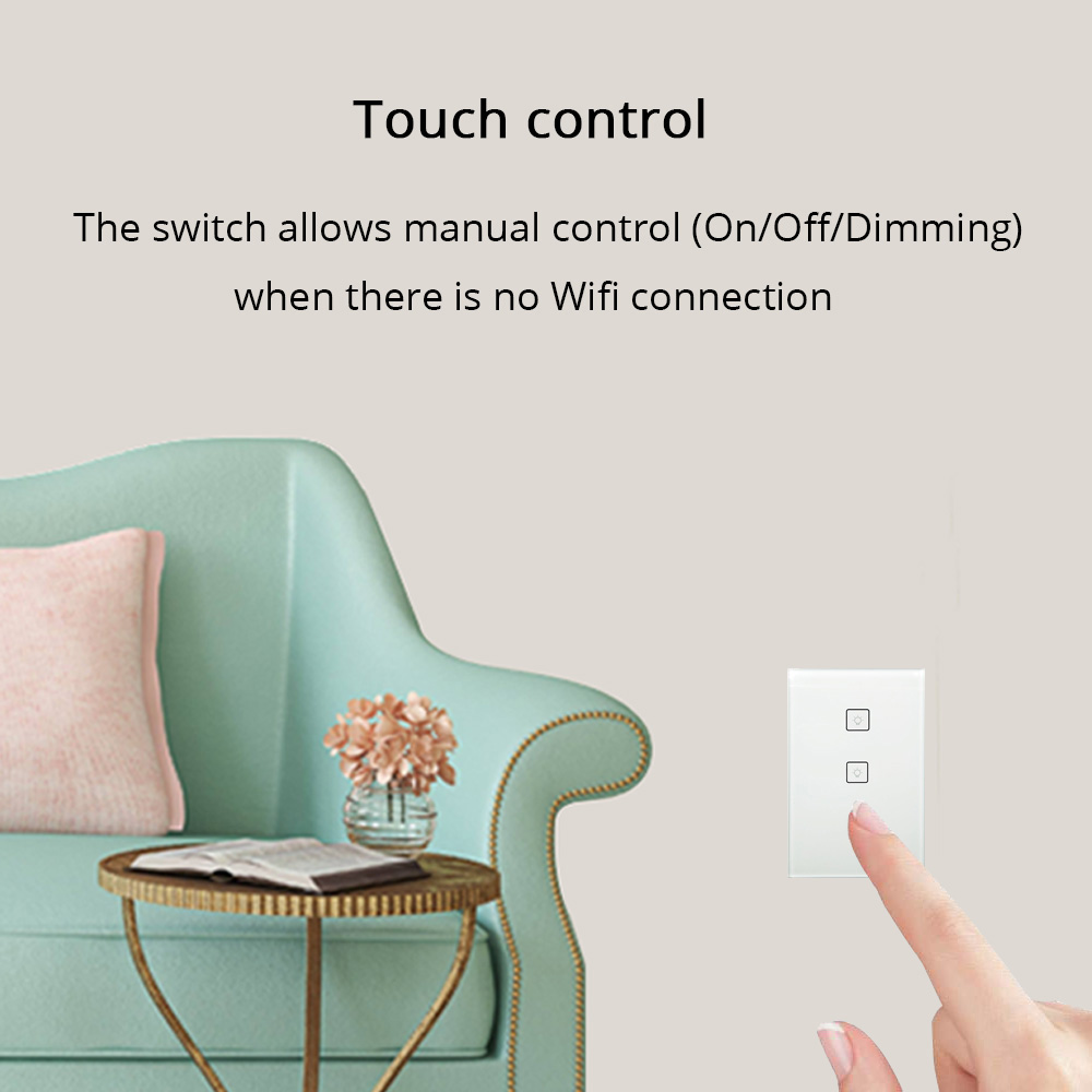 Zigbee Us Standard 3 Gangs Smart Light Switch Work With Alexa Google Neutral Wire How To A Smartthings Home Via Bridge App Phone Voice Control In Remote From