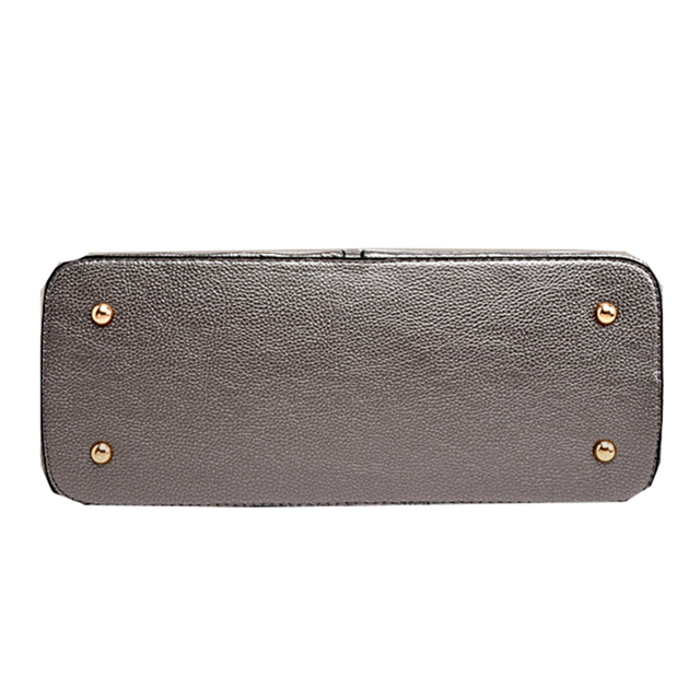 2016 Fashin New High Quality Leather Ladies Bag Vintage Handbag Bag Women Shoulder Bag Female Bolsas Crossbody Bag 6 Pcs/Set