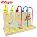 Simingyou Número Matemáticas Ábaco Chino Enseñanza Montessori Juguetes Bebé Temprano Juguete Educativo Montessori De Madera Juguetes Educativos BMZ2