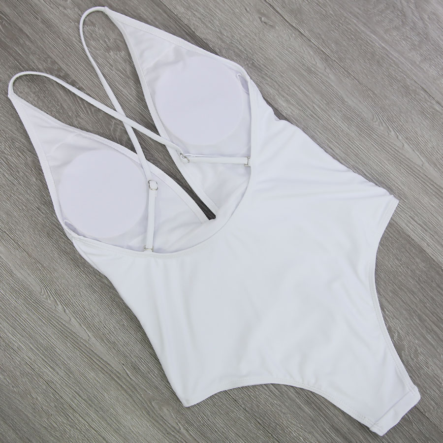 2018 Sexy Swimsuit Women Swimwear One Piece Bodysuit Push Up Monokini 2