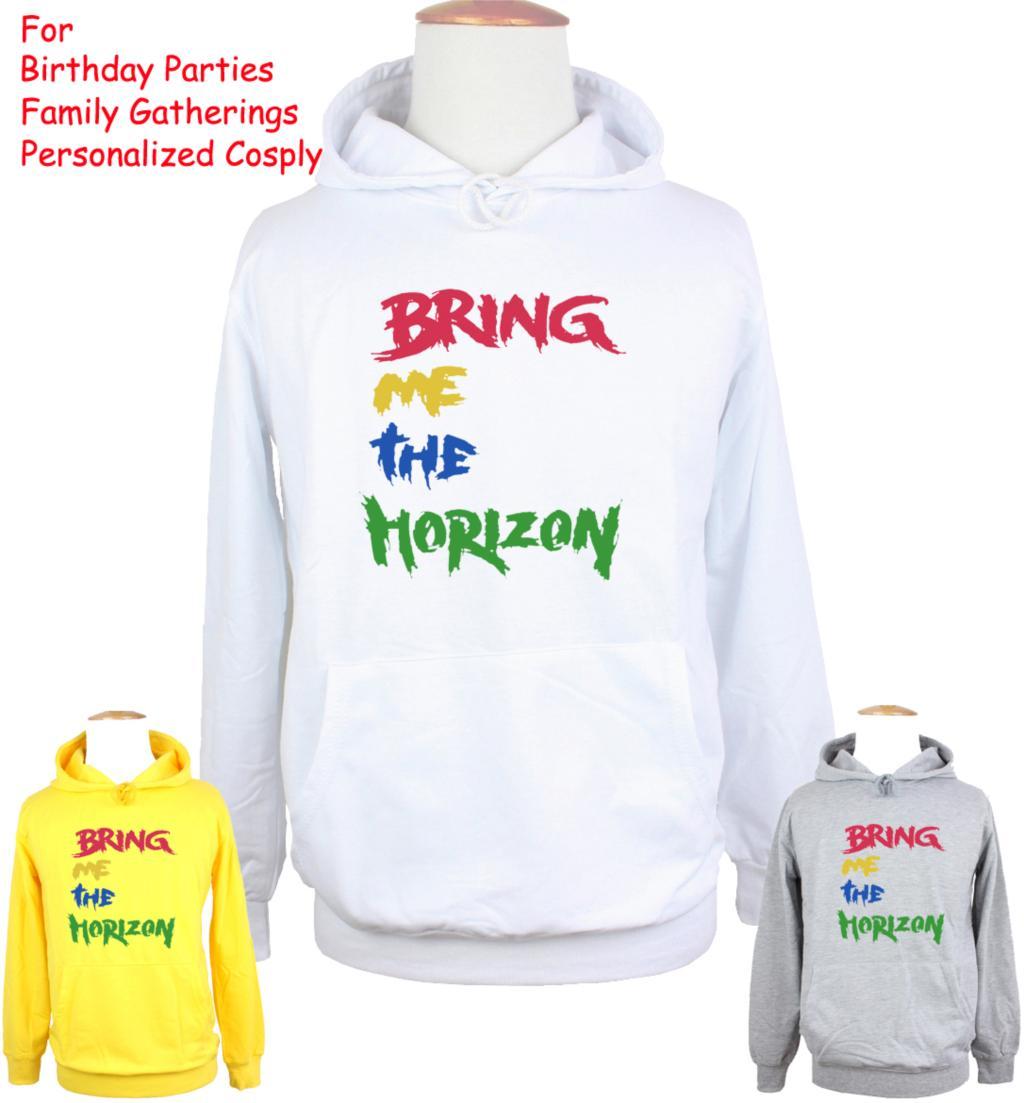 Unisex BMTH BRING ME THE Horizon Design Hoodie Mens Boys Womens Girls Sweatshirt Tops Printed Hoody