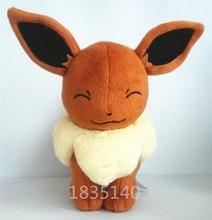 The latest design Tomy Pokemon Eevee 6″ Anime Animal Stuffed Plush Toys,Quality goods Soft Stuffed Plush Toy Free Shipping