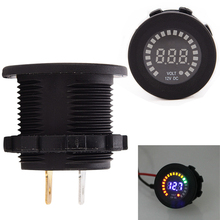 12V Universal LED Display Digital Car Auto Voltmeter Socket Voltage Tester for Car Auto Motorcycle