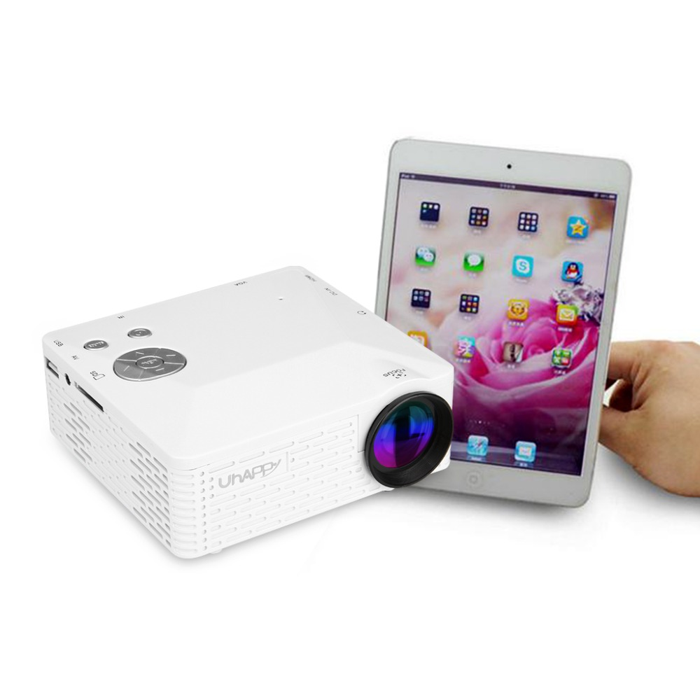 Hot sale hot sale new uhappy bl18 mini portable projector for Mini portable projector