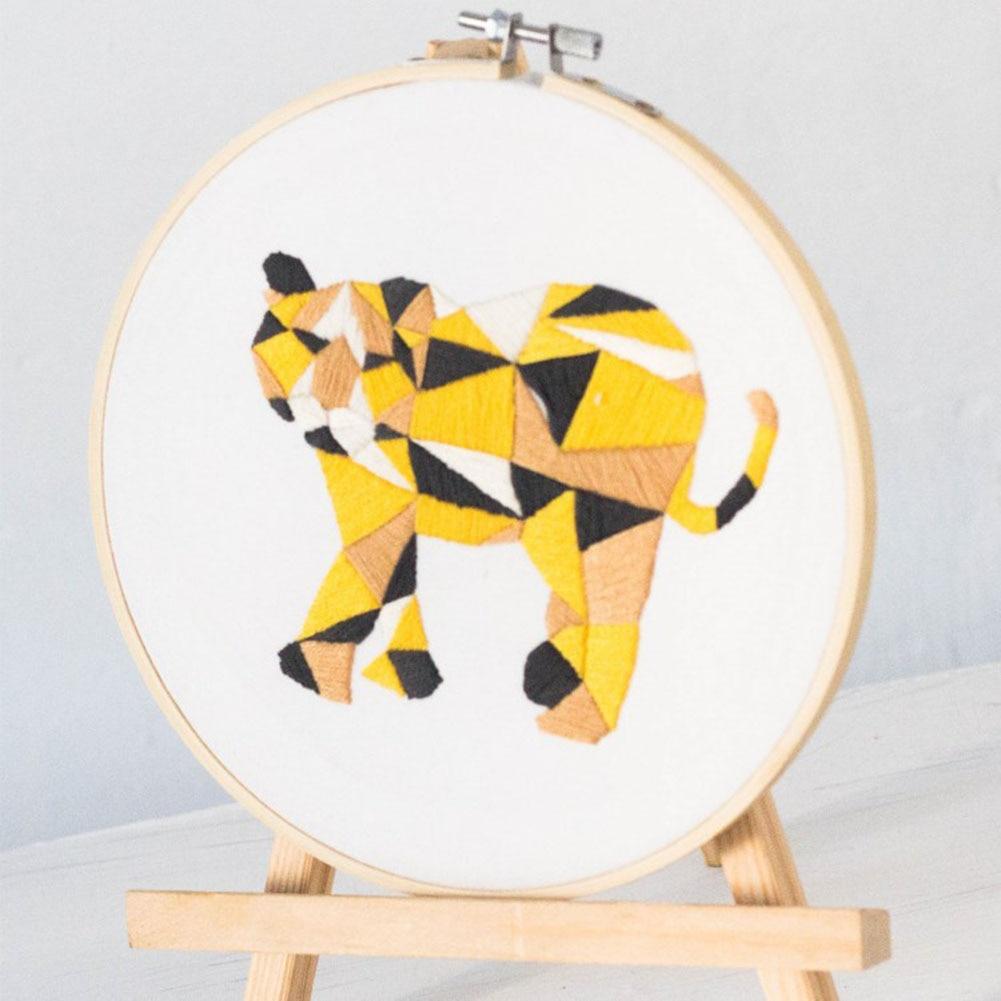 DIY Ribbons Embroidery Tool Needlework Kits Wall Art Home Decoration ...