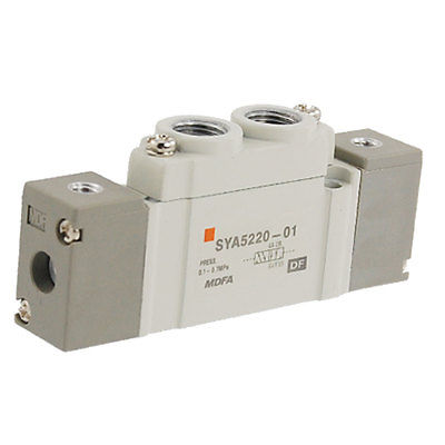 High quality 2 Positions Double Actuation 5 Ports Pneumatic Valve Free shipping