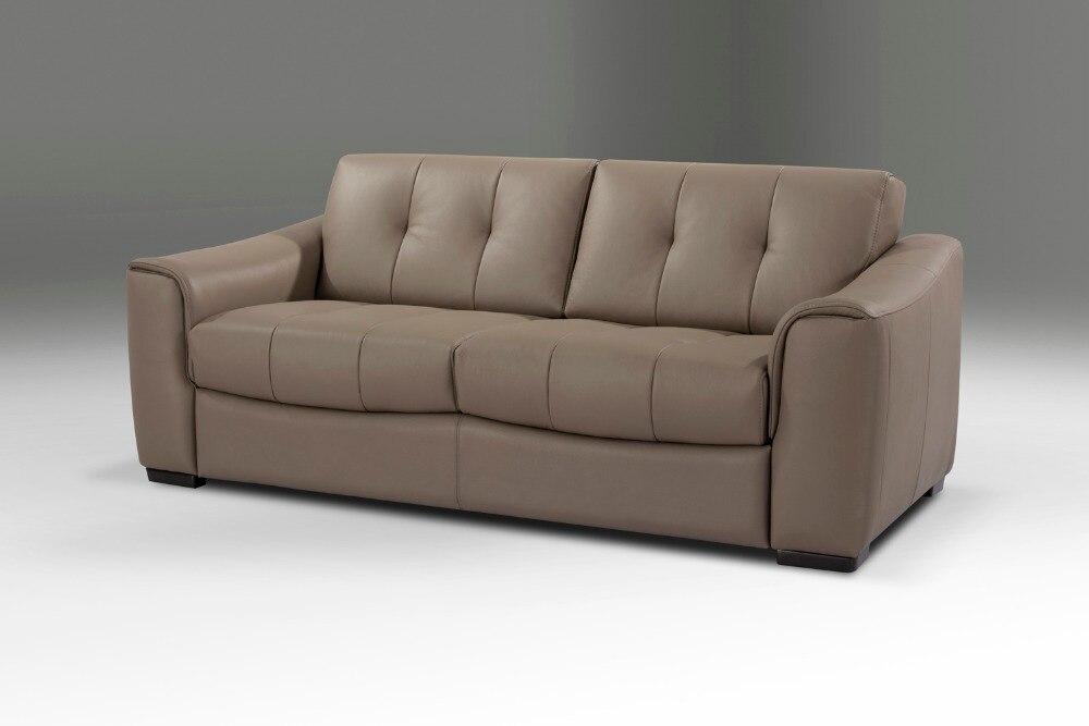 Echte Echtem Leder Sofa Bett Wohnzimmer Couch Schlafsofa Und Matratze Moderne Kreative Multifunktionsklappschreibtischlampen In