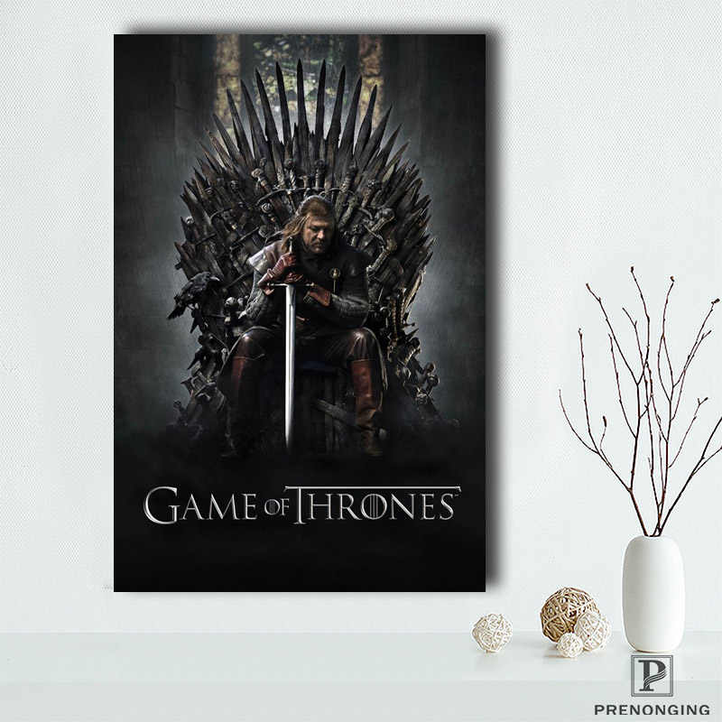 Canvas Poster Zijde Custom Game Of Thrones Home Decor Creative Art Poster Print Meer Size @ 190414-S-06