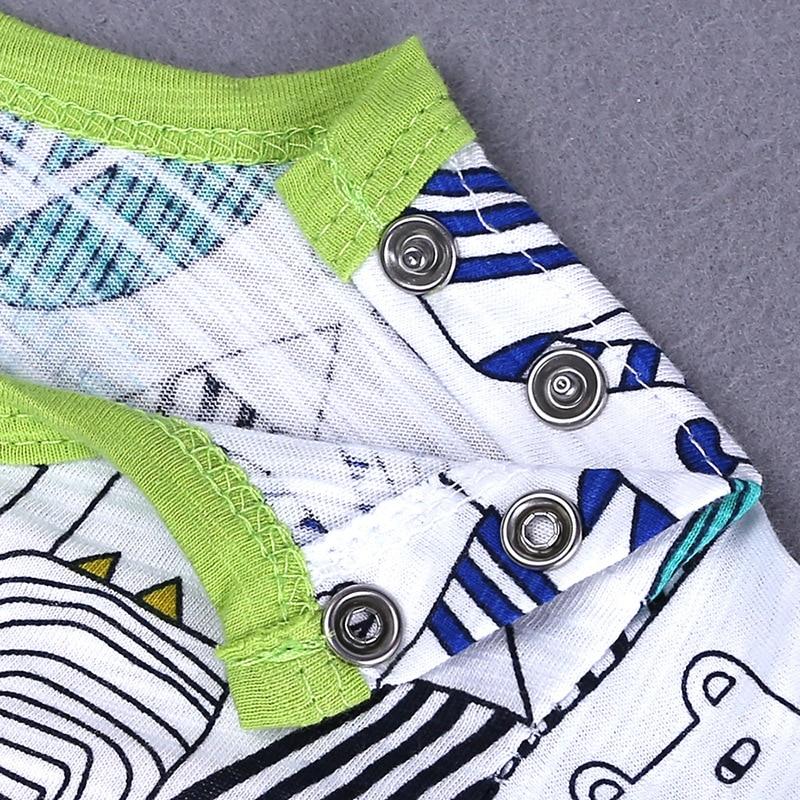 HTB18F4zXJzvK1RkSnfoq6zMwVXal 2019 Cartoon Baby Onesies Summer Cotton Romper Boy Girls 0-24 Months Kids Clothes Knitted Cartoon Short-sleeved Jumpsuit Outfits