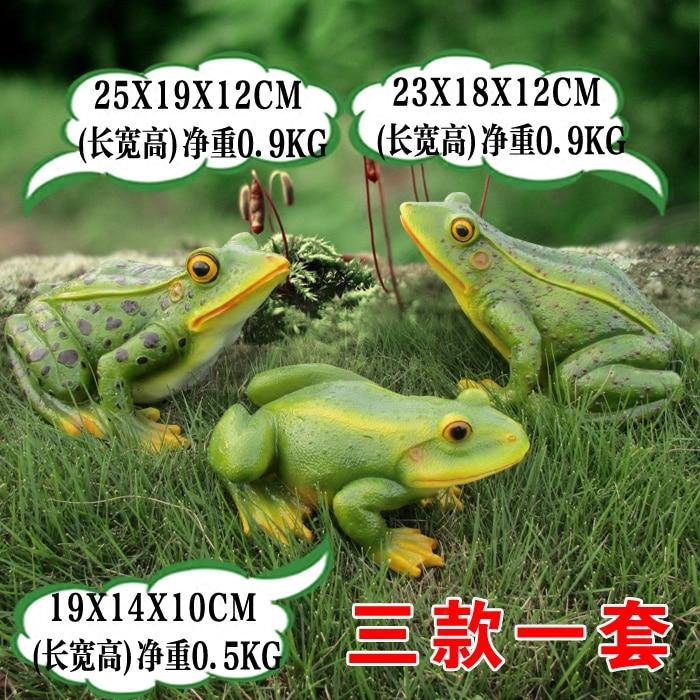 Resin Spray Simulation Frog Ornaments Garden Outdoor Pond Grass Landscape  Sculpture Decorative Animal Crafts In Figurines U0026 Miniatures From Home U0026  Garden On ...