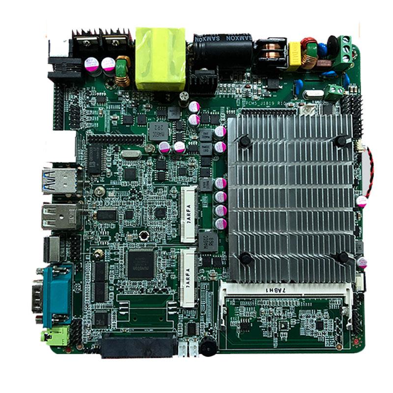 Low Price Intel Celeron J1900 Quad Core Main Board Support Wireless 3G & Wifi Modem For Automatic Ticket Machine