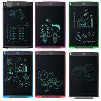 12 Portable Electronic Paperless LCD Writing Tablet Digital Handwriting Pad Erase Drawing Notepad Graphic Board W