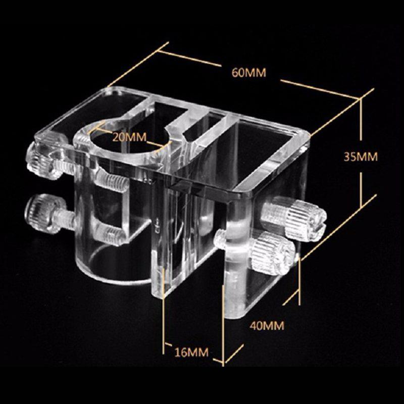 Новое поступление аквариумных аквариумов, фильтр для оттока, водопроводный шланг, держатель для аквариума, водные принадлежности, запчасти - Цвет: Белый