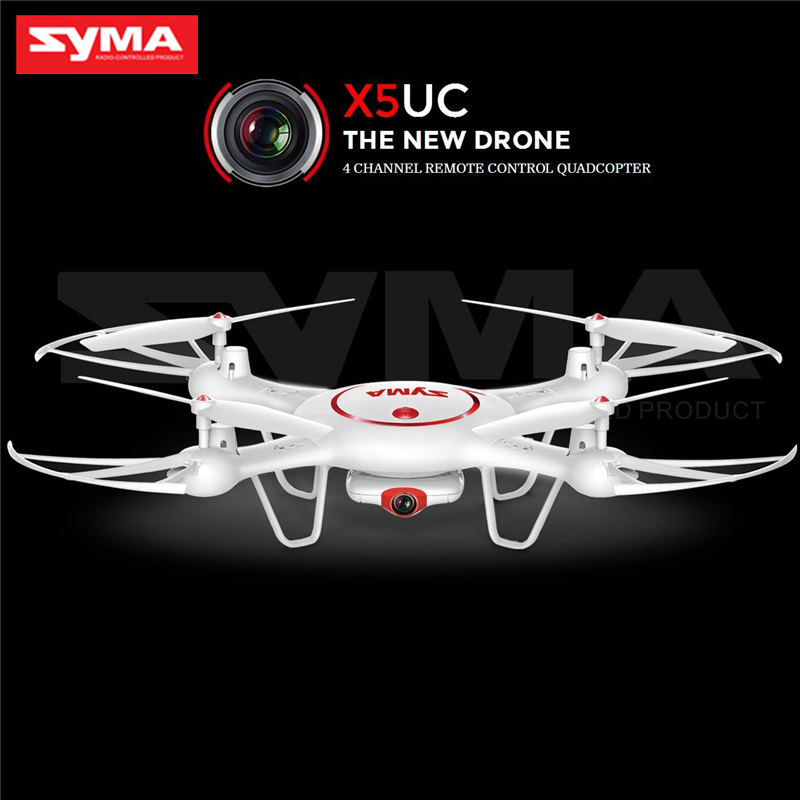 Latest Syma Drone X5UC RC Quadcopter 2.4G 4CH Hover Function Headless Mode, 2.0MP HD Camera, X5C Upgraded New Version syma x5 x5c x5c 1 explorers new version without camera transmitter bnf