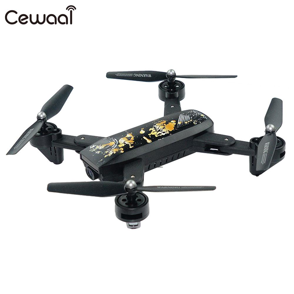 Folding 2.4GHz 4 Channel 6 Axis Gyro WIFI FPV Real Time 2.0MP Wide Angle Camera Altitude Hold Remote Quadcopter Aircraft Drone yizhan i8h 4axis professiona rc drone wifi fpv hd camera video remote control toys quadcopter helicopter aircraft plane toy