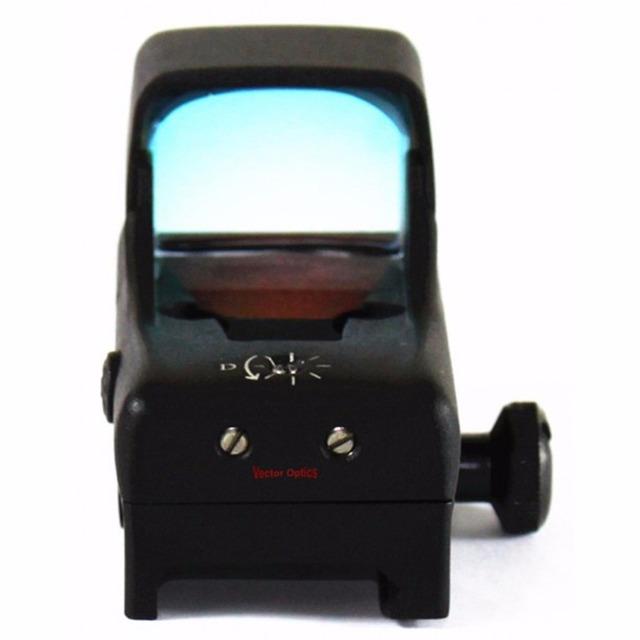 Vector Optics Predator 1x28x20 Tactical Reflex 12GA Open Shotgun Red Dot Hunting Sight 2.4 Inch Length 4 MOA Dot ShockProof