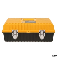 2 Layer Folding Tool Storage Box Portable Hardware Toolbox Multifunction Car Repair Container CaseJun18