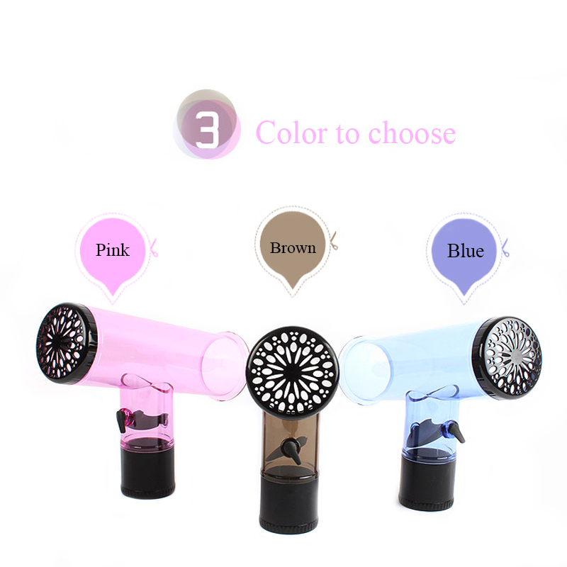 2018 New Women Hair Curl Hairdryer Diffuser Magic Wind Spin Plastic Salon Styling Hair Tools Fashion Solid Hair Accessories hair dryer