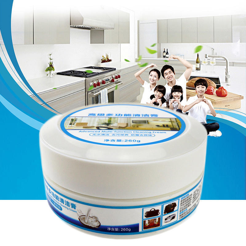 Cleaning paste Multifunctional Leather Cleaner Car Seat Sofa Clothing Decontamination Cream Household Repair