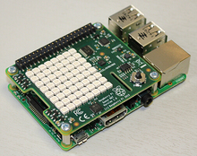 The latest Raspberry Pi Sense HAT PI integrated sensor module spot special offer