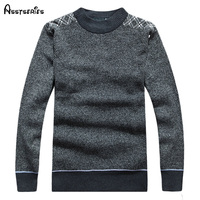 Free Shipping 2018 new High quality New Winter Men's o neck Sweater Jumpers pullover sweater men's choice 42
