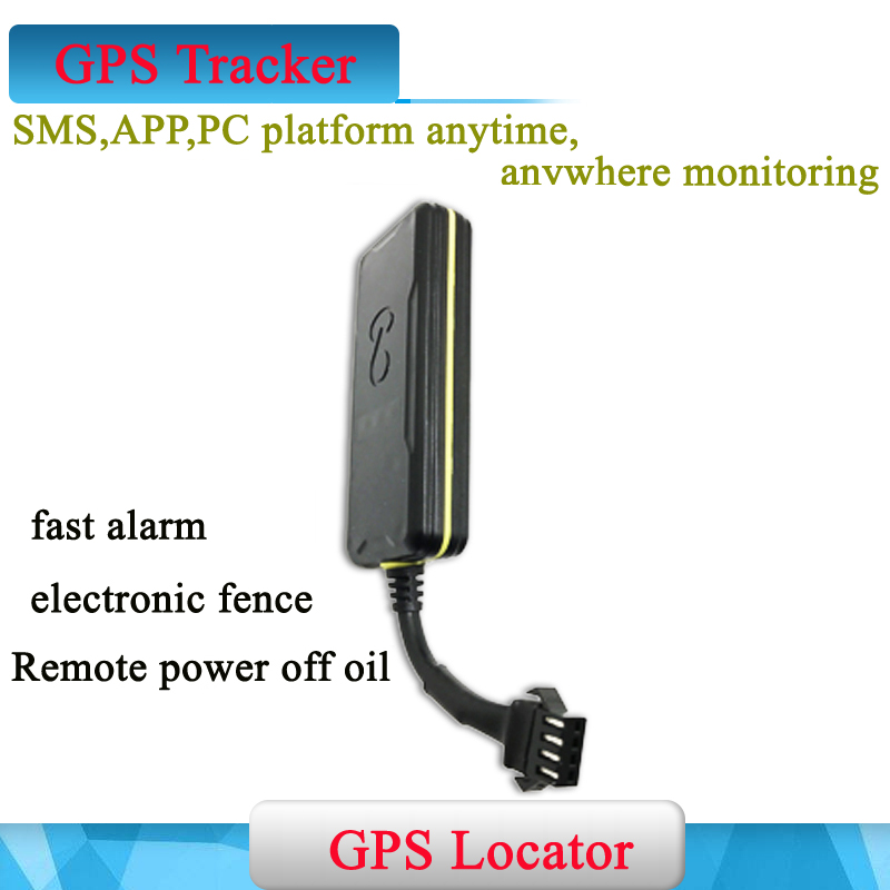 все цены на Genuine Mini Waterproof GSM GPS tracker Locater Built-in Battery for Vehicle Car motorcycle micro locating & Cut Off Oil Power онлайн