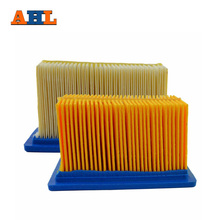 AHL 2 pcs Air filter System Filters For BMW F650GS F650 GS F 650 GS 650GS 650 cc Intake Cleaner Motorcycle Engine Parts