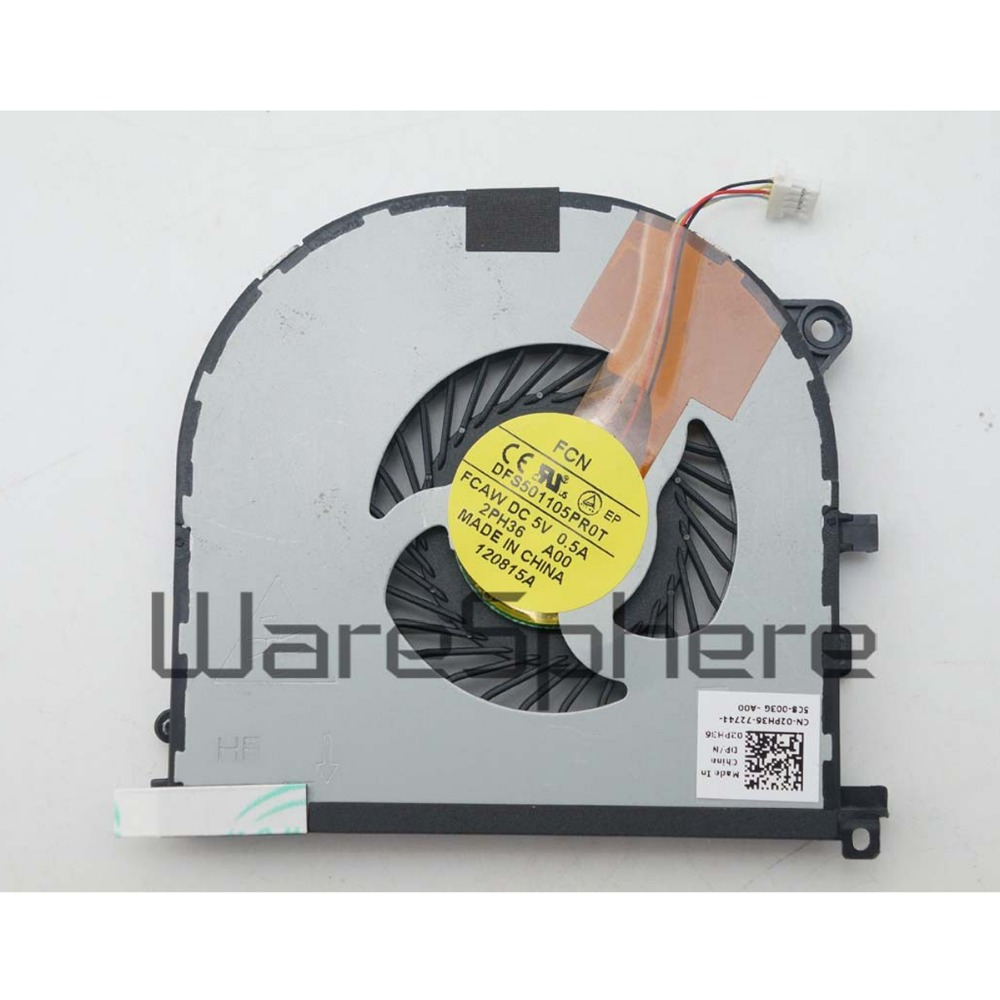 NEW for Dell XPS15 9530 M3800 series CPU+GPU cooling Twins Fans  02PH36 0H98CT