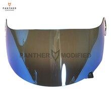 Blue Motorcycle Helmet Visor Lens Full Face Shield Case for SUOMY Spec 1R Spec-1R Extreme Apex Visor Mask