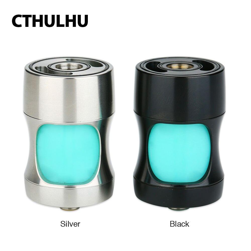D'origine Cthulhu Squonk Génie Adaptateur avec 7.1 ml Capacité Fit 24mm MOD et Plus 22mm/24mm RDA E-cig Vaporisateur Squonk Génie Adaptateur