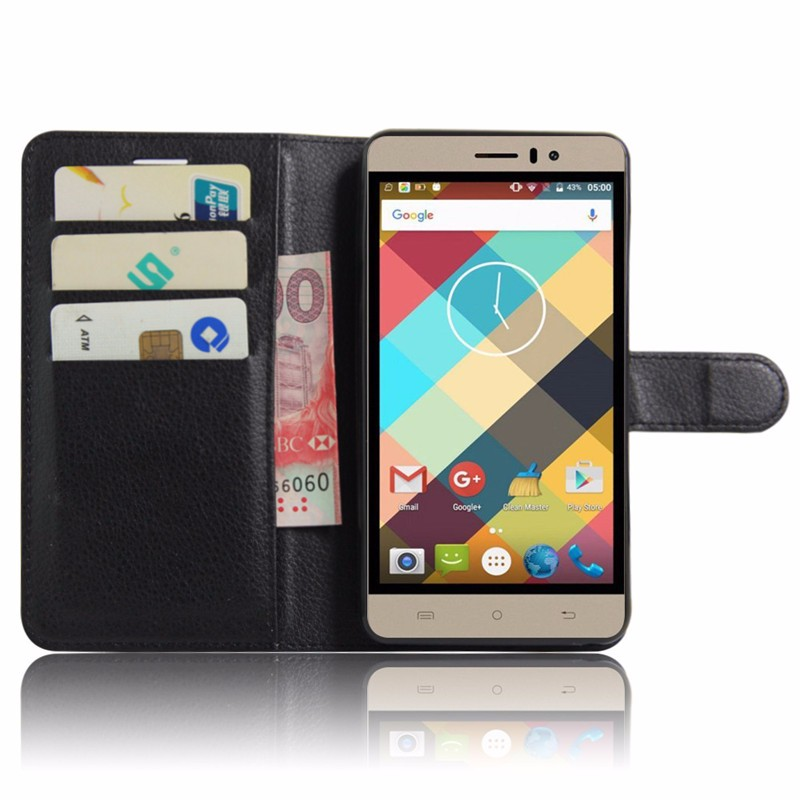 For Cubot Rainbow Case Luxury Wallet PU Leather Back Cover Case For Cubot Rainbow Case 5.0 Flip Protective Phone Bag Skin Stand (3)