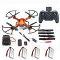 4 Baterías RC quadrocopter Quadcopter drone JJRC H12C CF Modo Drone Helicóptero de Control Remoto con Cámara de 2MP o no camare